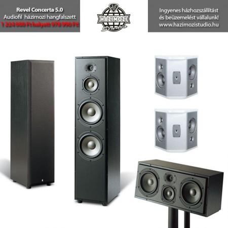 Revel Concerta 5.0 házimozi hangfalszett