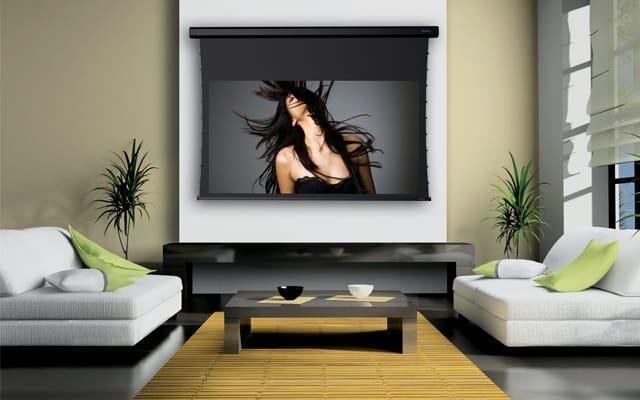 Luxus Model A házimozi vetítővászon