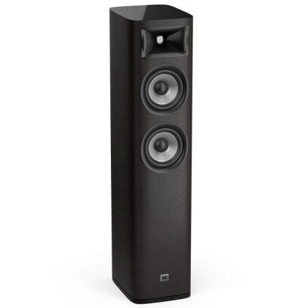JBL Studio 680 álló hangfal fekete színben